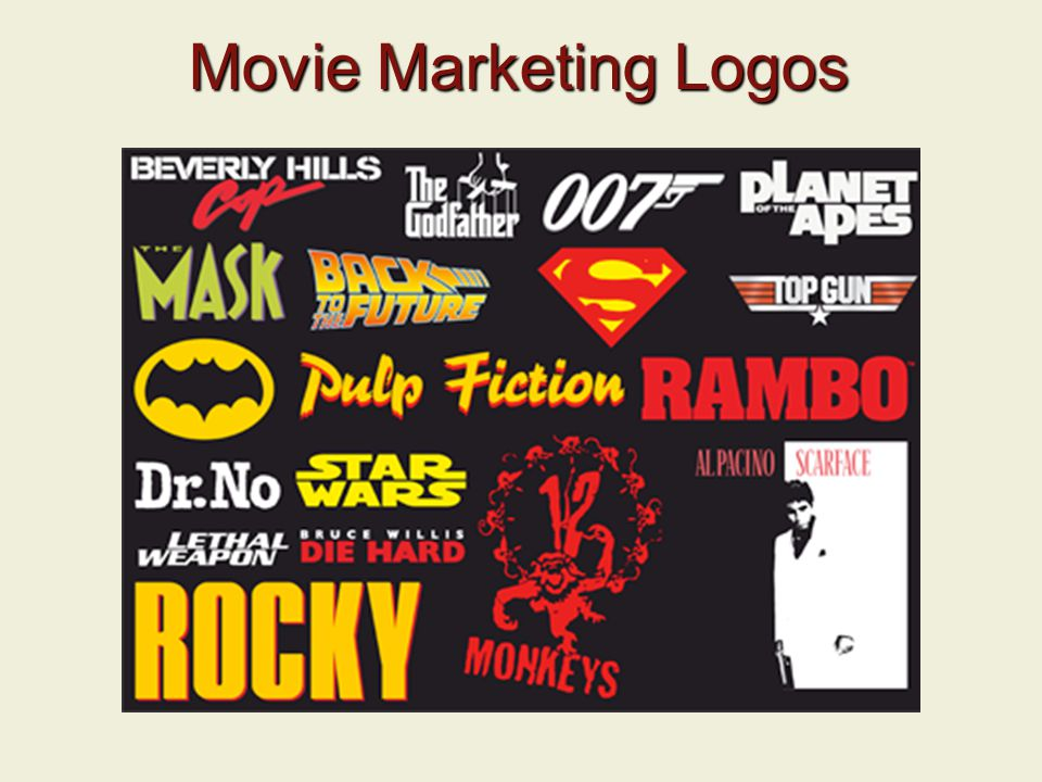 Movie Marketing Logos