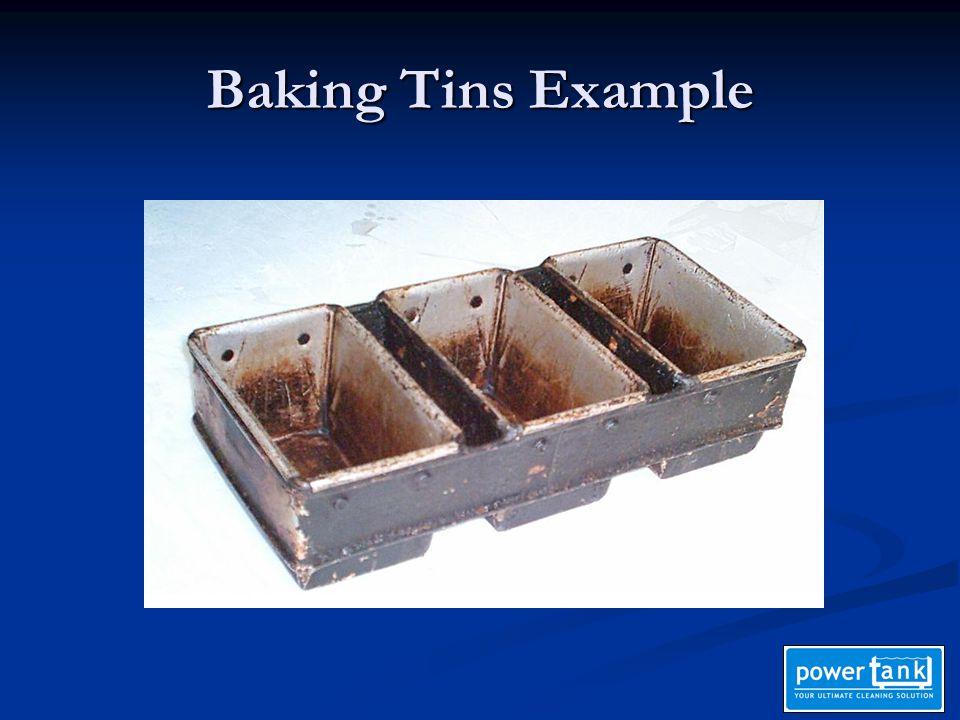 Baking Tins Example