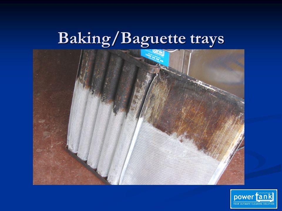 Baking/Baguette trays
