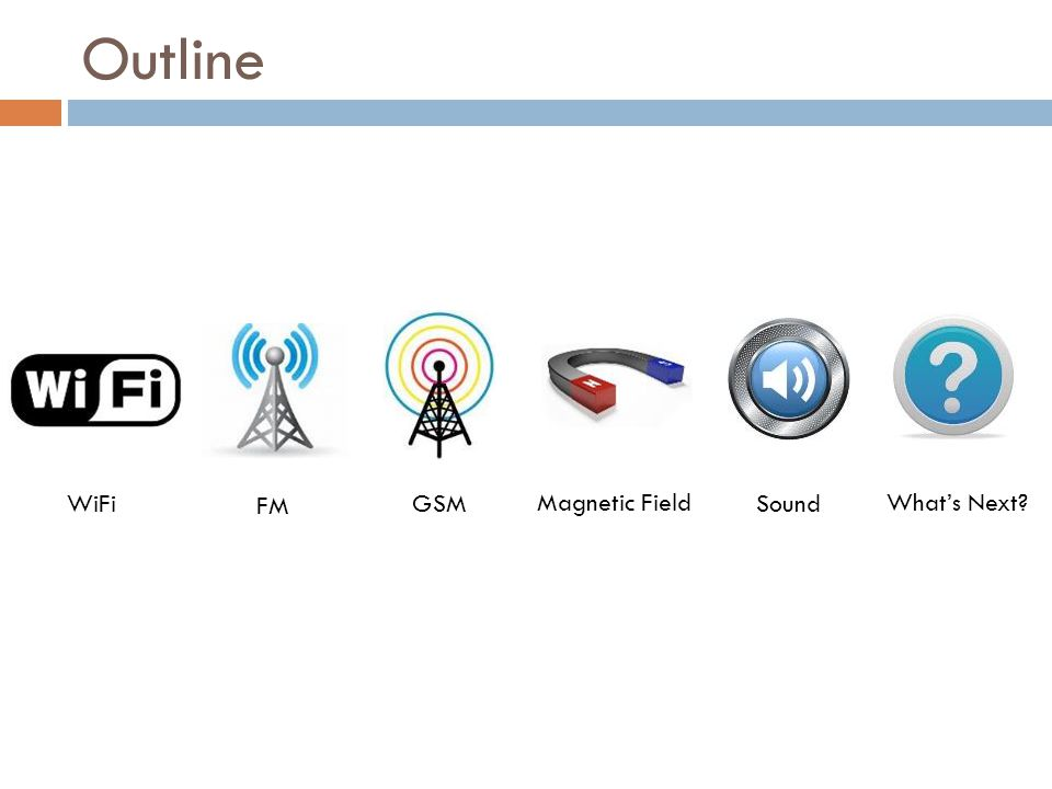 Horus: Offline  Group together all points covered by the same set of access points  Performance  Enable faster fingerprint matching during the online phase [Youssef2005]