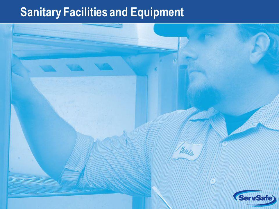 11-1 Sanitary Facilities and Equipment