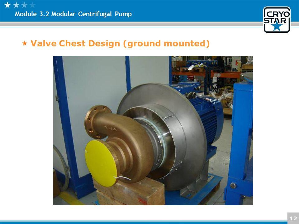 12 Module 3.2 Modular Centrifugal Pump Valve Chest Design (ground mounted)
