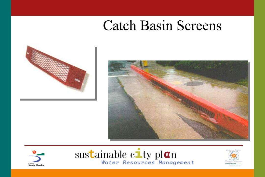 Catch Basin Screens