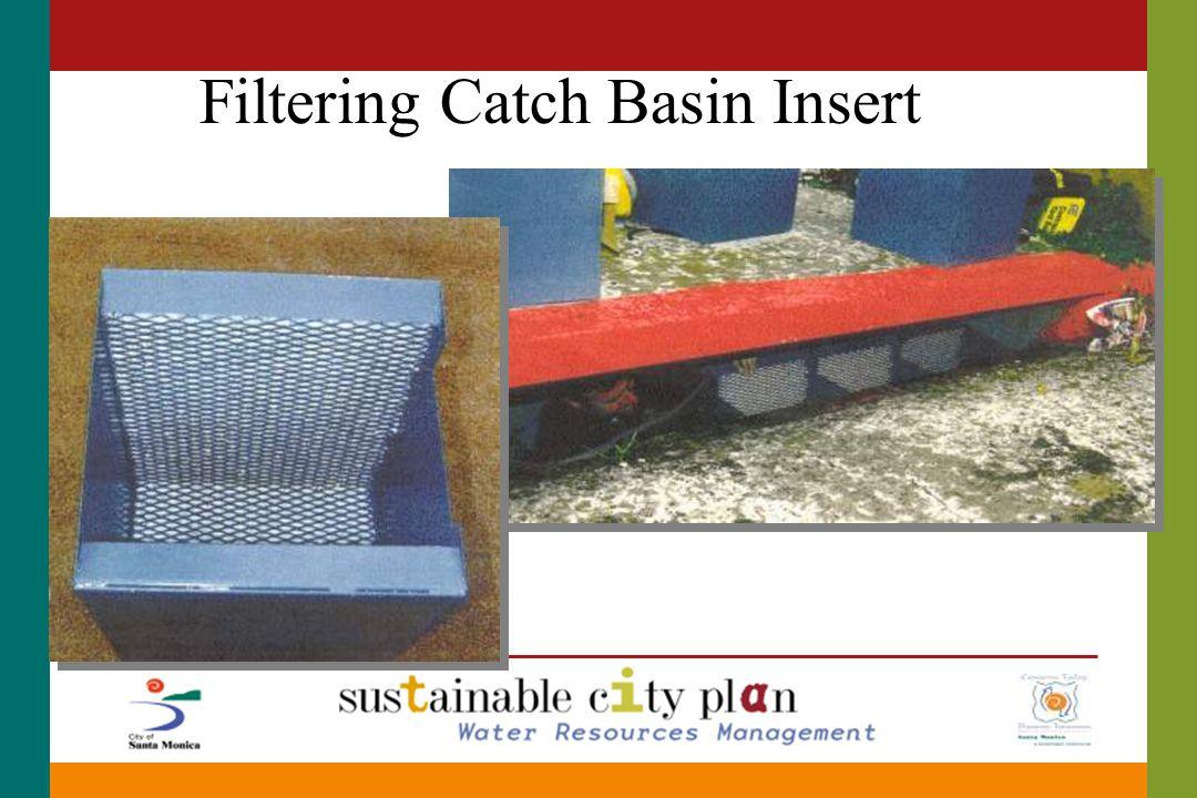 Filtering Catch Basin Insert