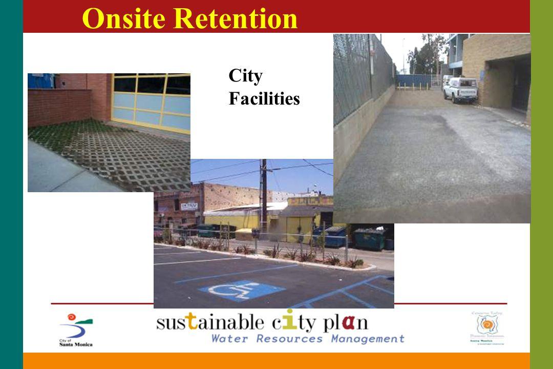 Onsite Retention City Facilities