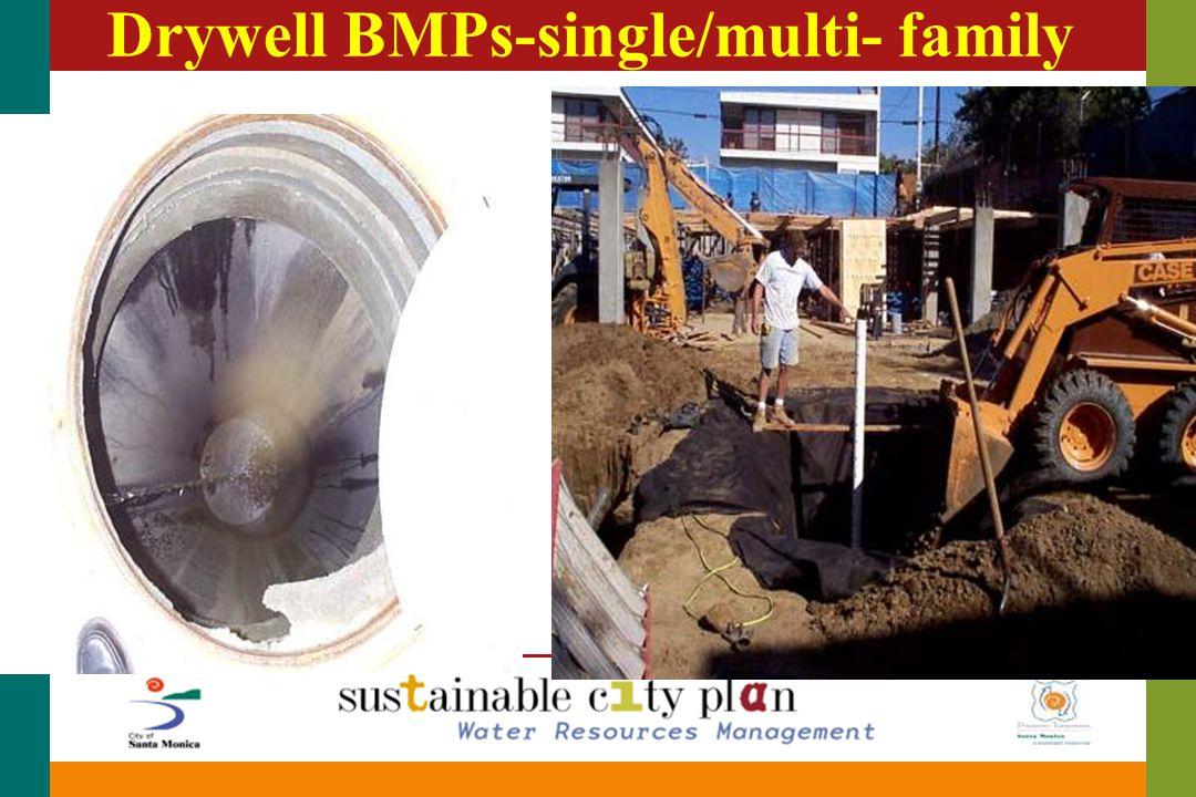 Drywell BMPs-single/multi- family