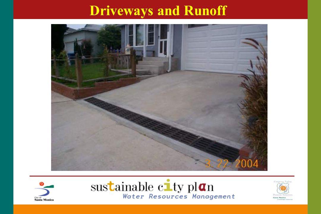 Driveways and Runoff