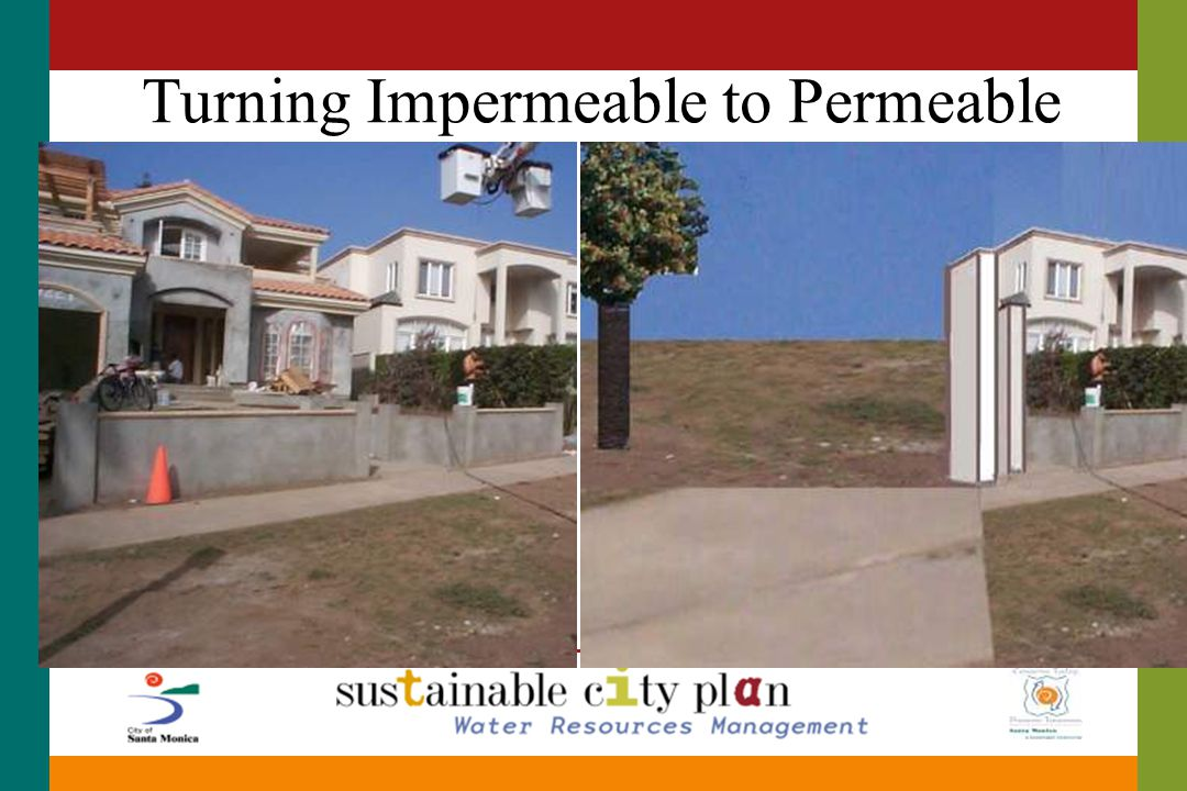 Turning Impermeable to Permeable
