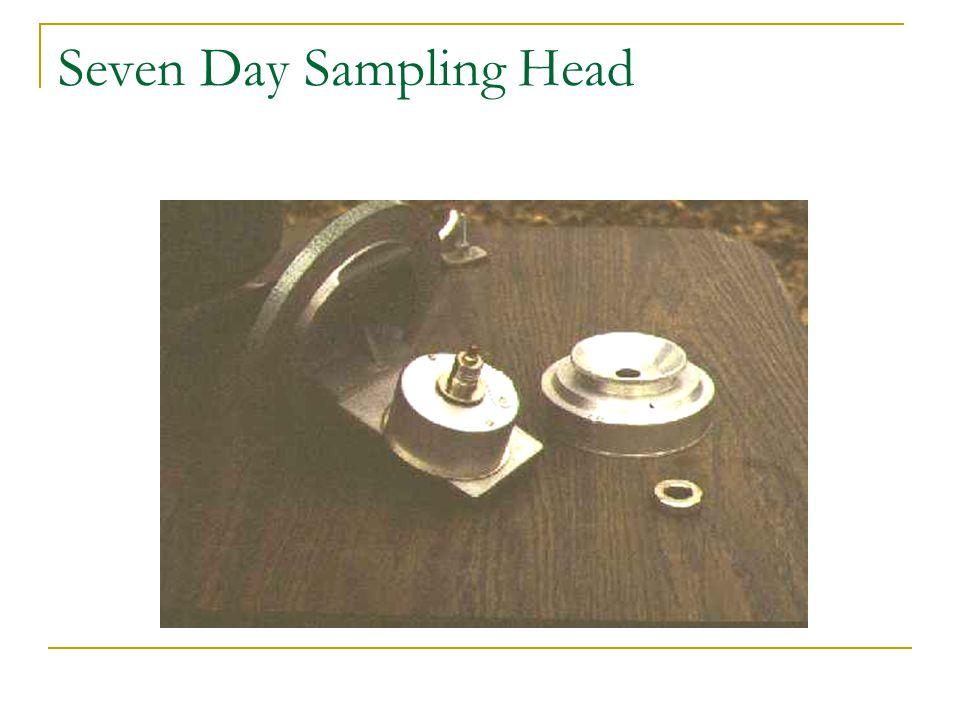 Seven Day Sampling Head