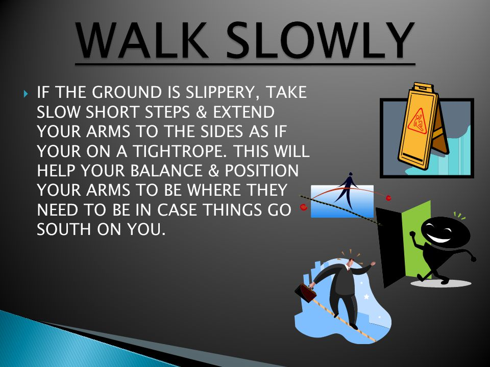 IF AFTER ALL OF THIS YOU FIND YOUR STILL FALLING, QUICKLY LOWER YOUR ARMS TO YOUR SIDES, (DON'T EXTEND THEM BACKWARD, BECAUSE YOU'LL LAND ON & POSSIBLY BREAK YOUR WRISTS.) YOUR ARMS WILL HIT THE GROUND BEFORE YOUR HIPS DO, SAVING YOU FROM A MORE DAMAGING INJURY.