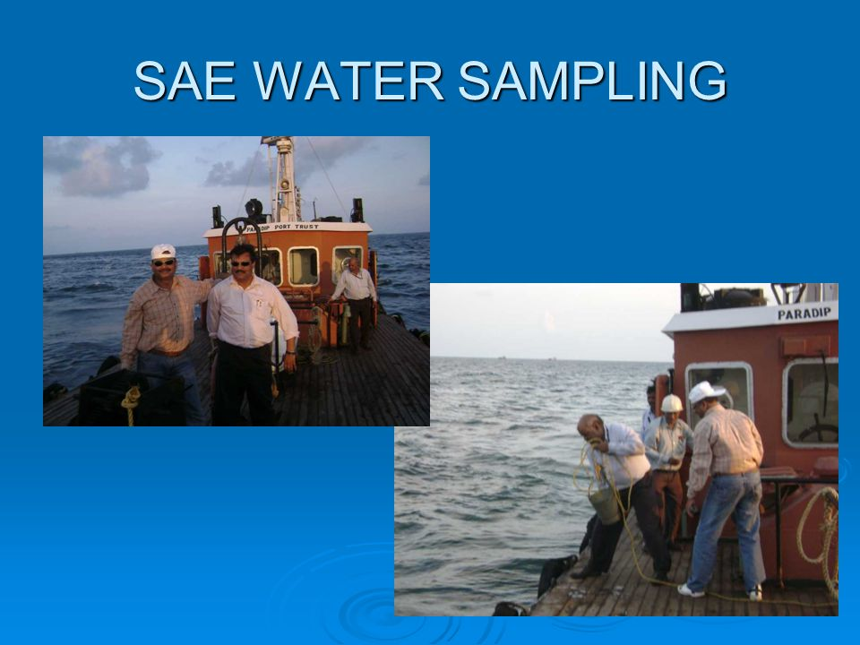 SAE WATER SAMPLING