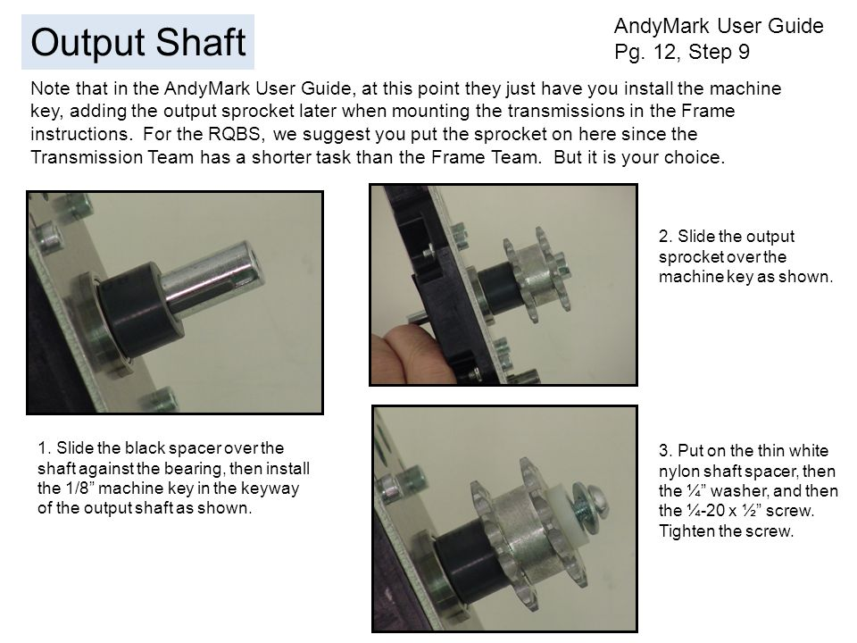 AndyMark User Guide Pg.