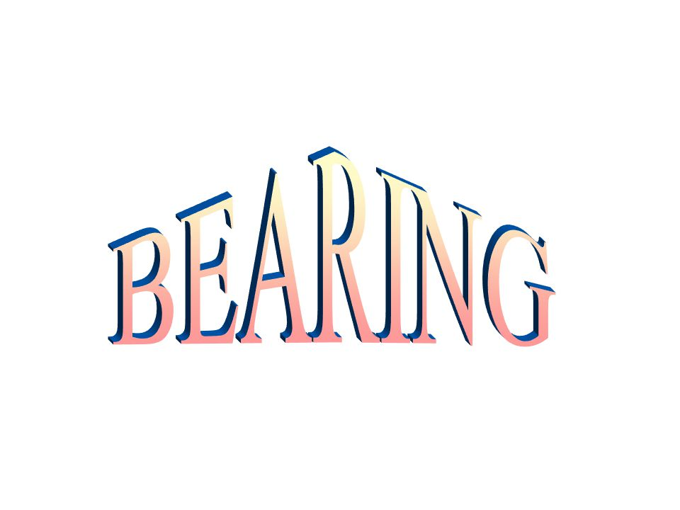 CONTENTS - Introduction - Classification - Terminology - Function of Bearing - Selection of Bearing -Types and Application - Bearing Specification - Classes of Fit - Mounting of Bearing - Dismounting of Bearing