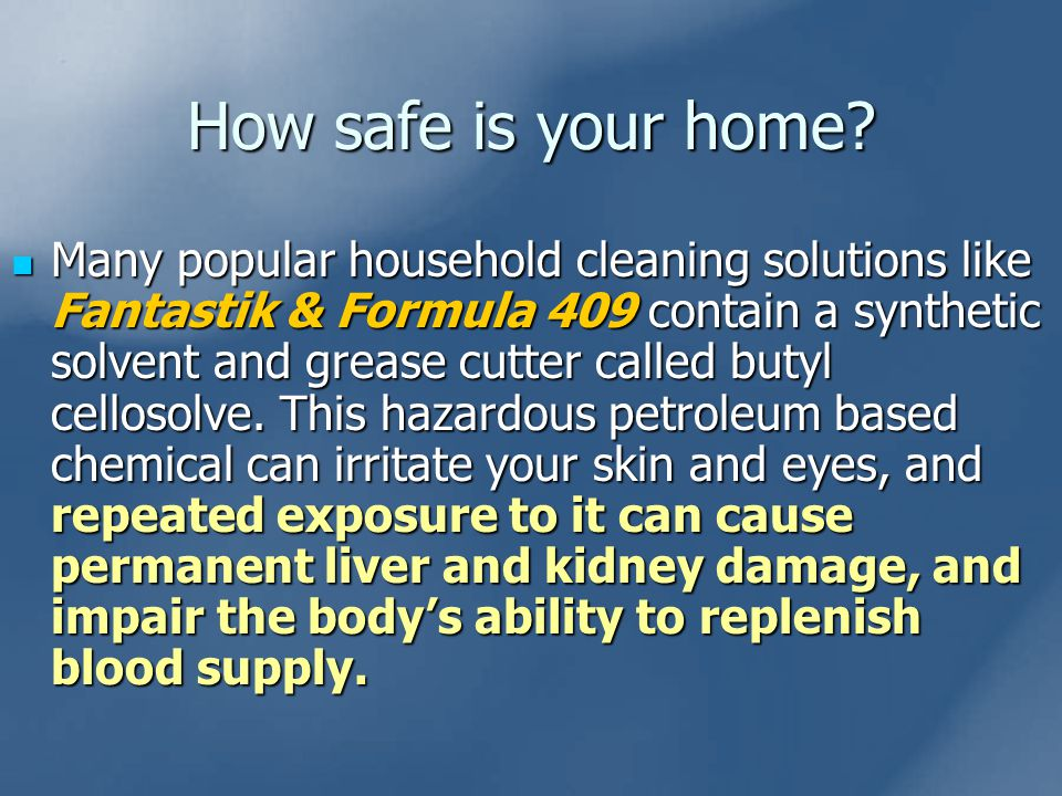 How safe is your home.