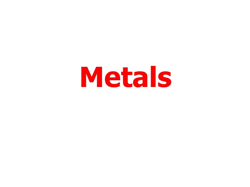 Menu To work through a topic click on the title. Metals Personal Needs Fuels Plastics End