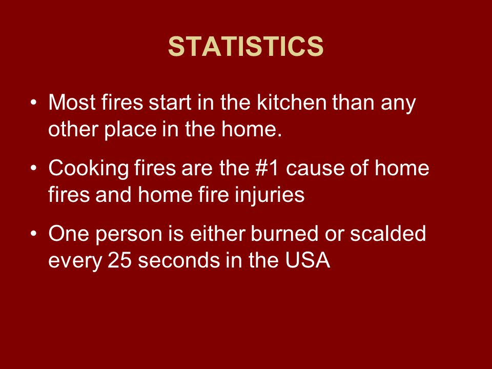 Fire and Smoke Detectors There are different types Make sure you read the labels Put on every floor of house