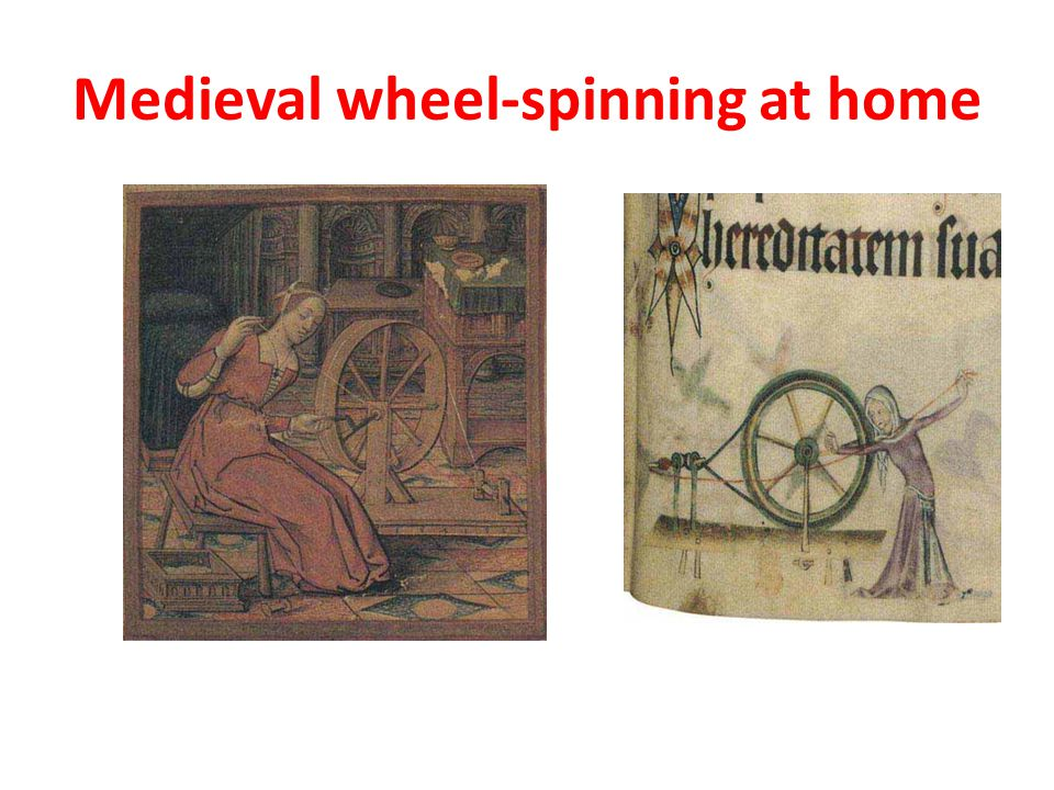 Medieval wheel-spinning at home