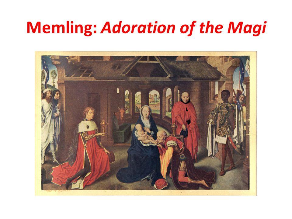 Memling: Adoration of the Magi