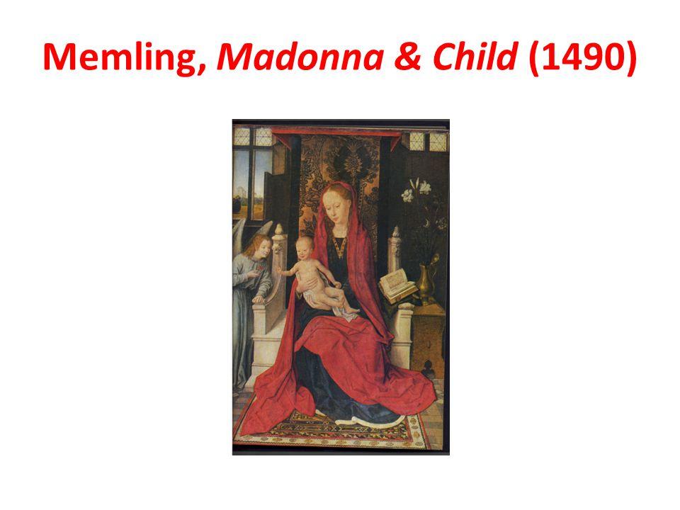 Memling, Madonna & Child (1490)