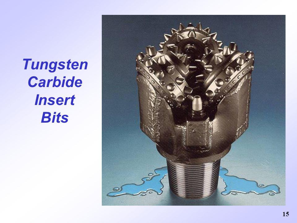 15 Tungsten Carbide Insert Bits