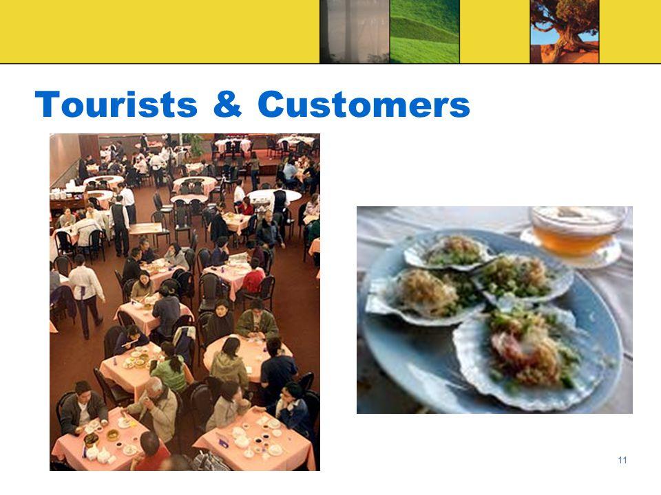11 Tourists & Customers