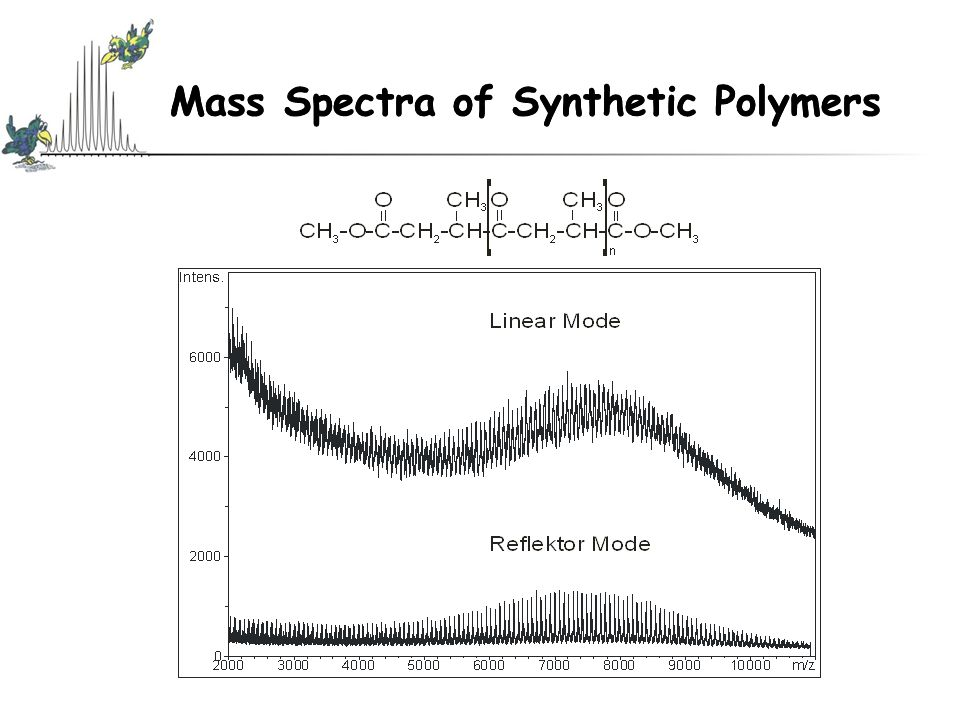 Mass Spectra of Synthetic Polymers