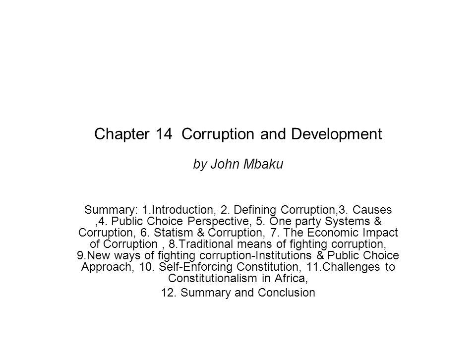 8.Traditional Corruption Control Strategies What are short-comings these strategies.