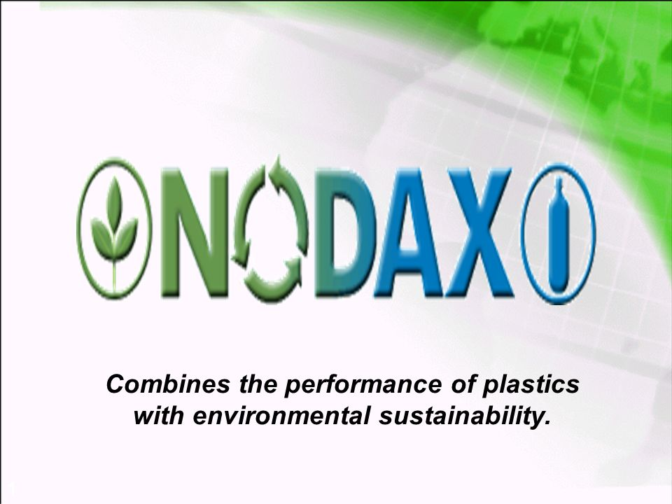 1 Combines the performance of plastics with environmental sustainability.
