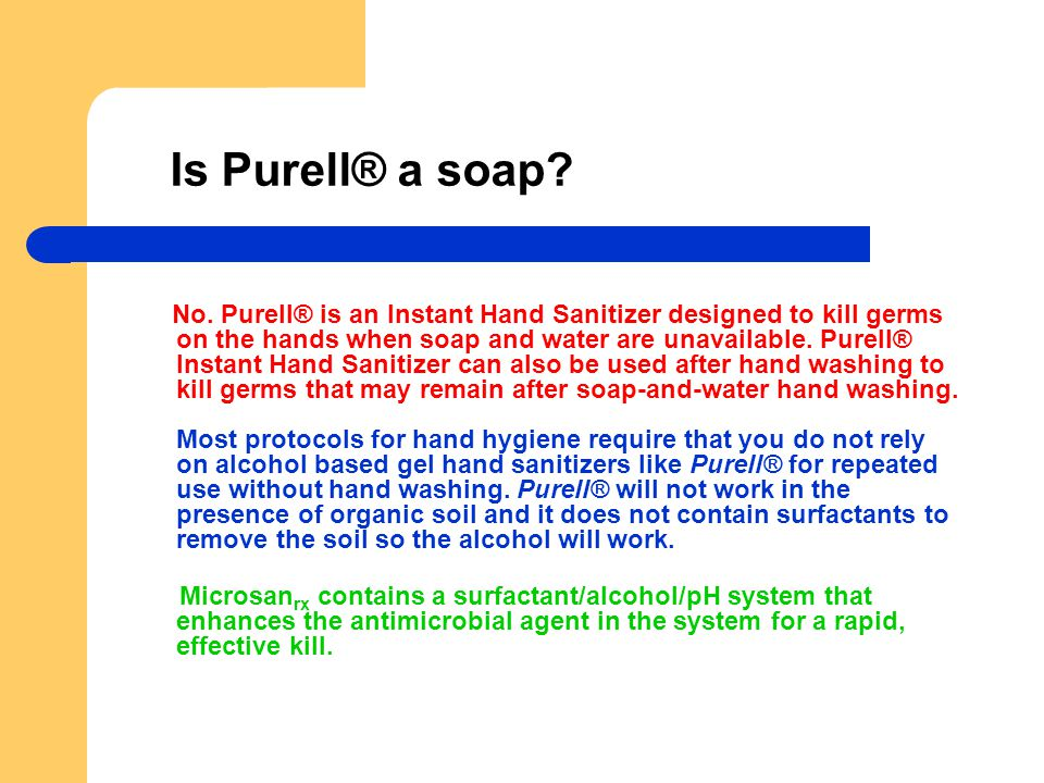 Are there any side effects to using Purell® products.