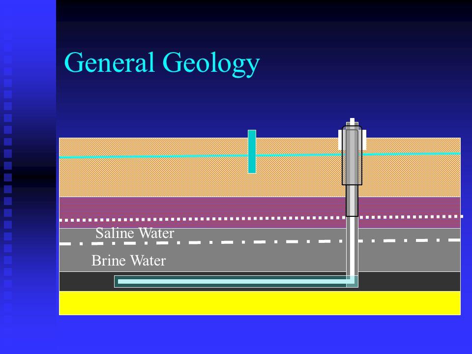 General Geology Saline Water Brine Water