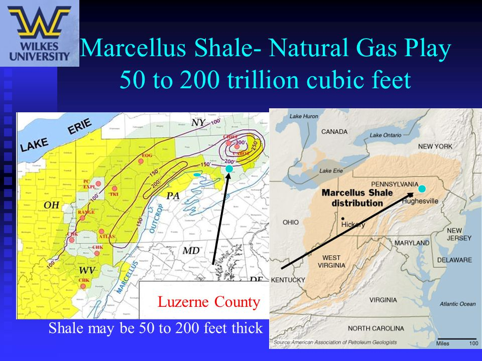 Source- Cabot – Marcellus Shale Thickness Map This is why the term – Fairway is being used to describe the play.