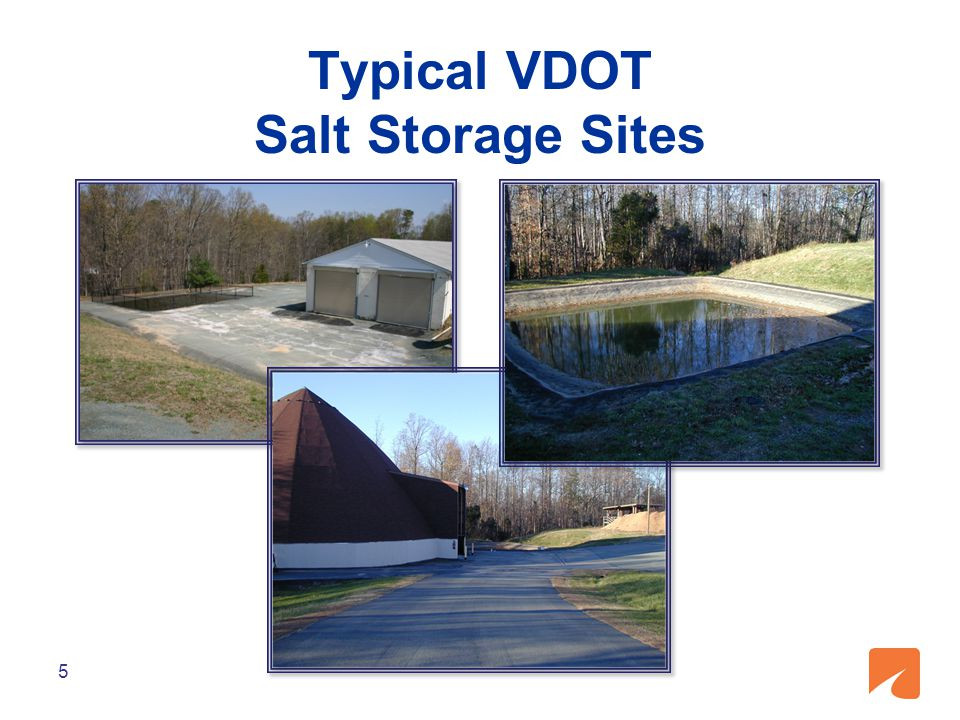 6 PROBLEM VDOT is collecting a lot of water Evaporation is not always sufficient Chloride levels are high Disposal options are limited and costly