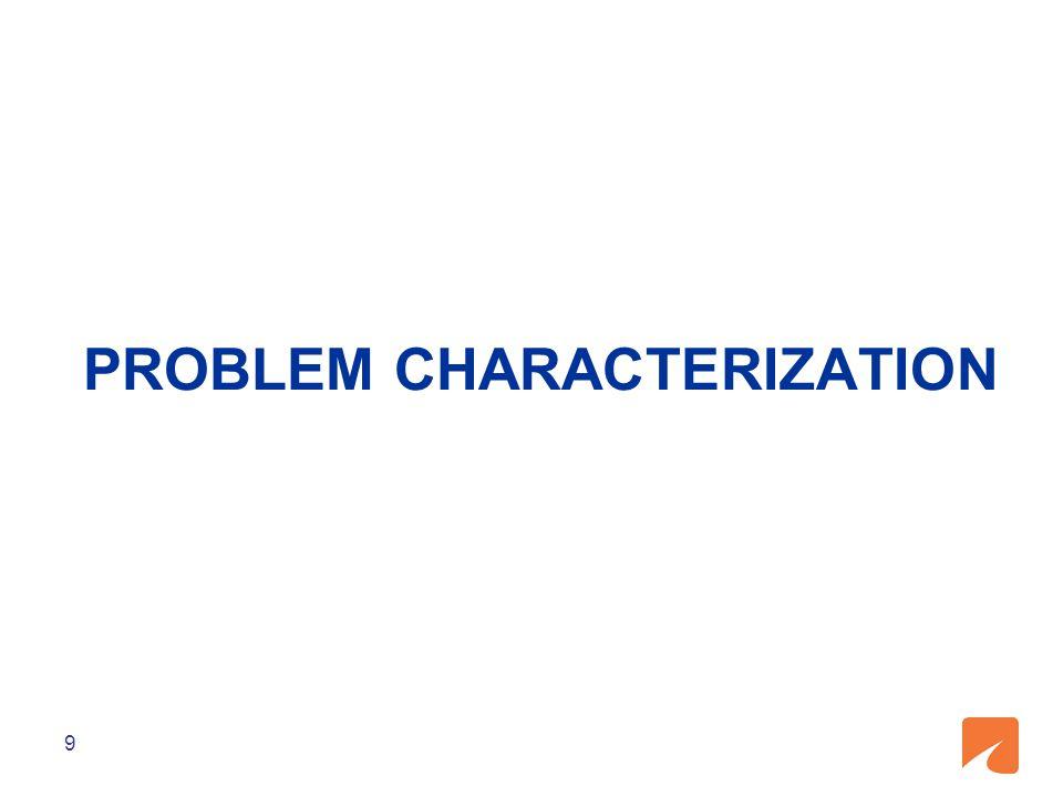 PROBLEM CHARACTERIZATION 9