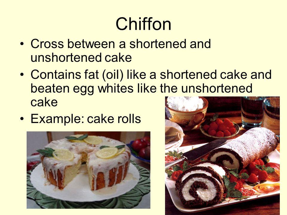 Sponge cake is a combination cake