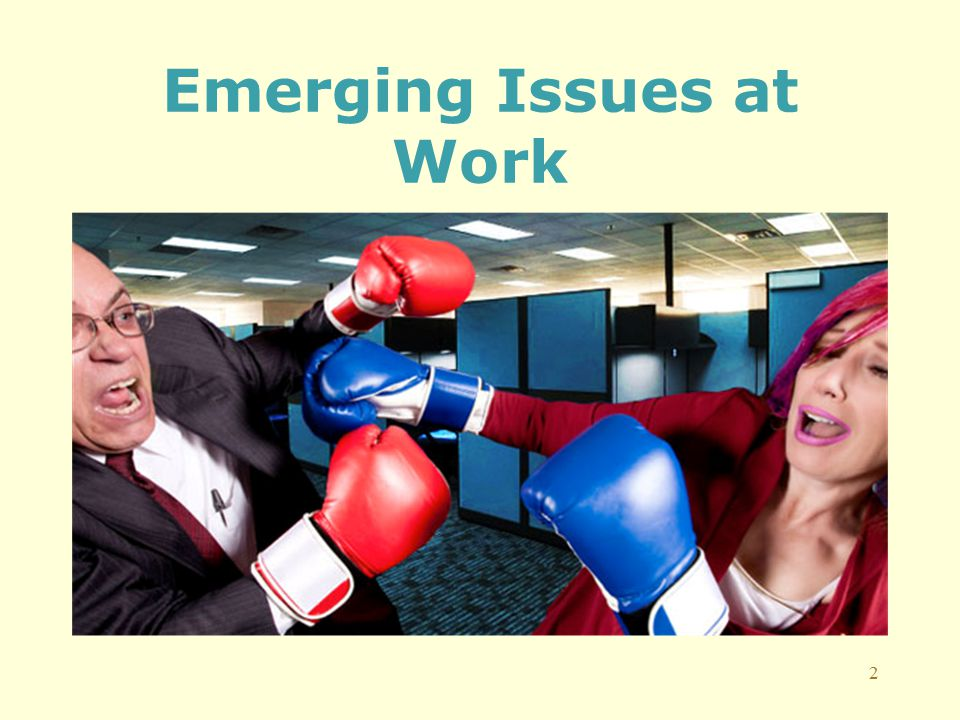 Emerging Issues at Work 2