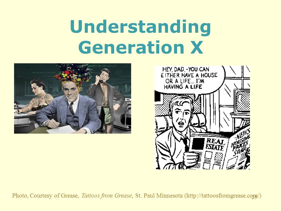 25 Understanding Generation X Photo, Courtesy of Grease, Tattoos from Grease, St.