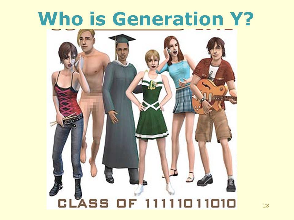 28 Who is Generation Y