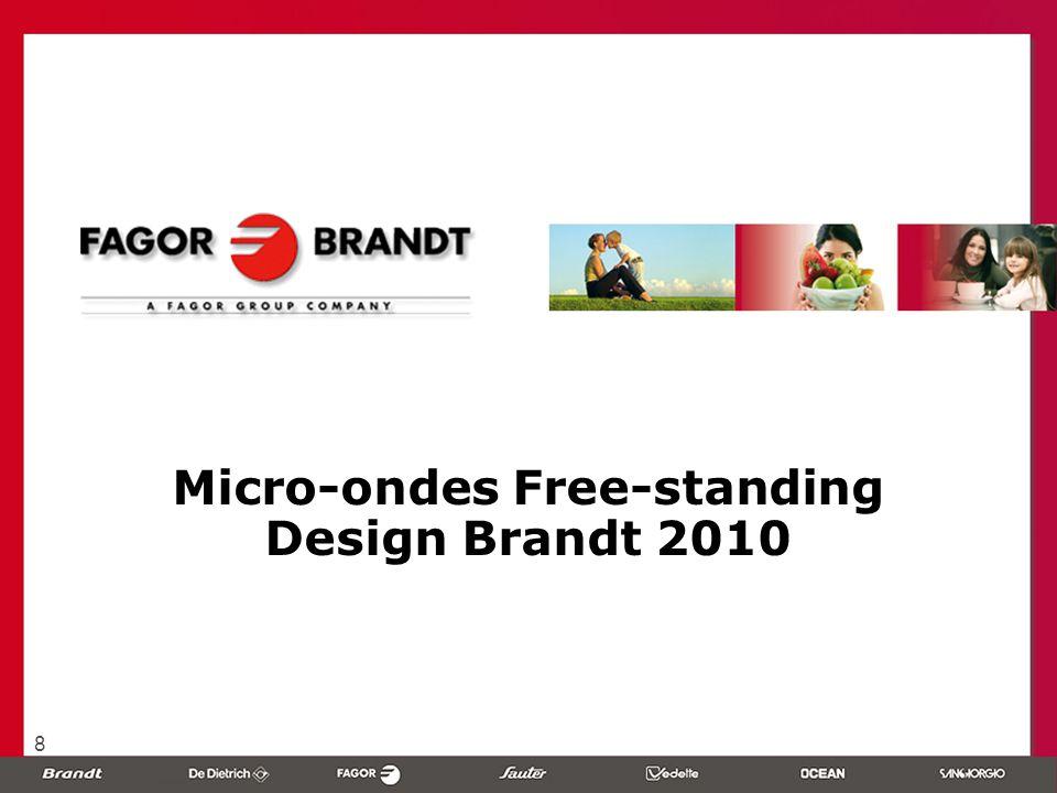 8 Micro-ondes Free-standing Design Brandt 2010