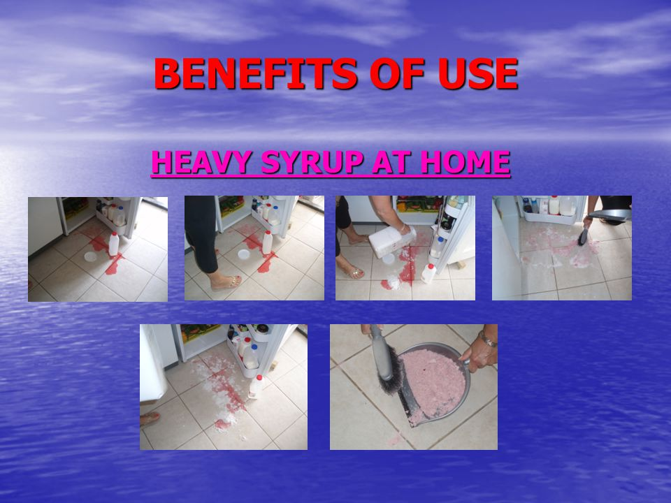 BENEFITS OF USE HEAVY SYRUP AT HOME