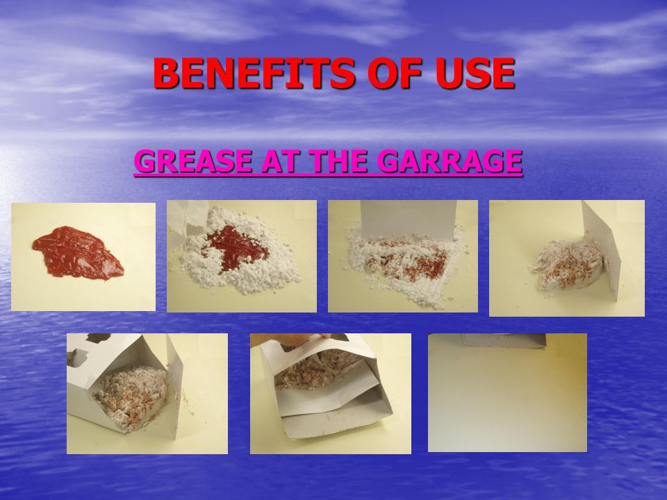 BENEFITS OF USE GREASE AT THE GARRAGE