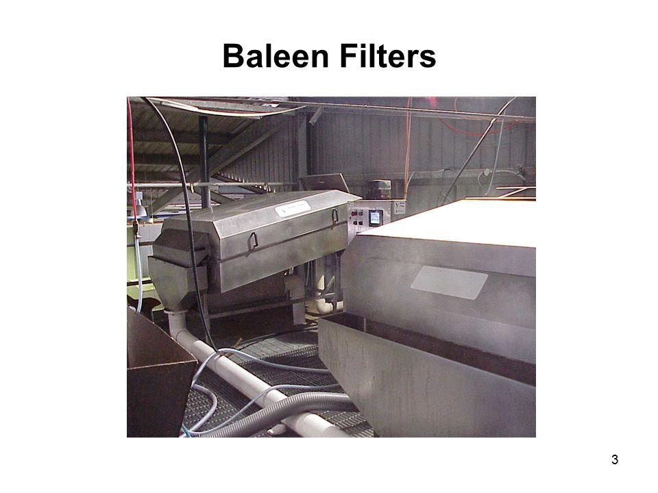 3 Baleen Filters