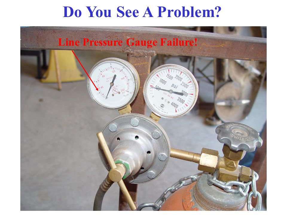 And Finally…… Never attempt to transfer acetylene from one cylinder to another. Check valves stop reverse gas flow, they do not act as a fire stop. Fl