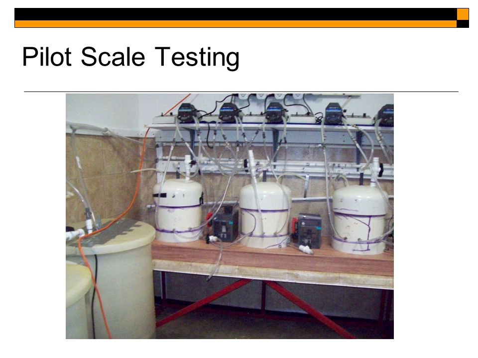 Pilot Scale Testing