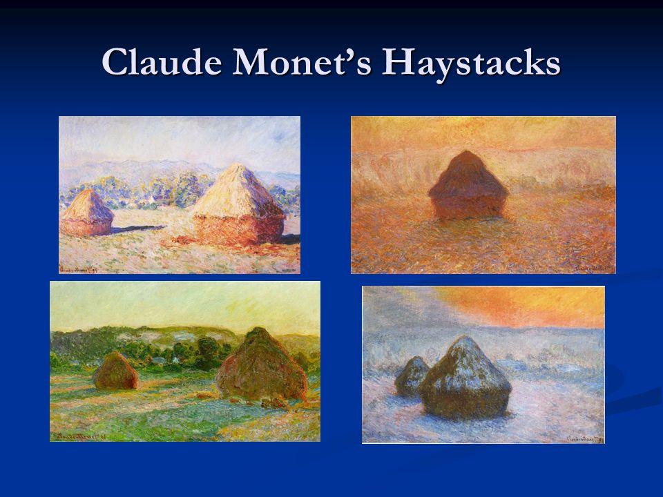 Claude Monet's Haystacks