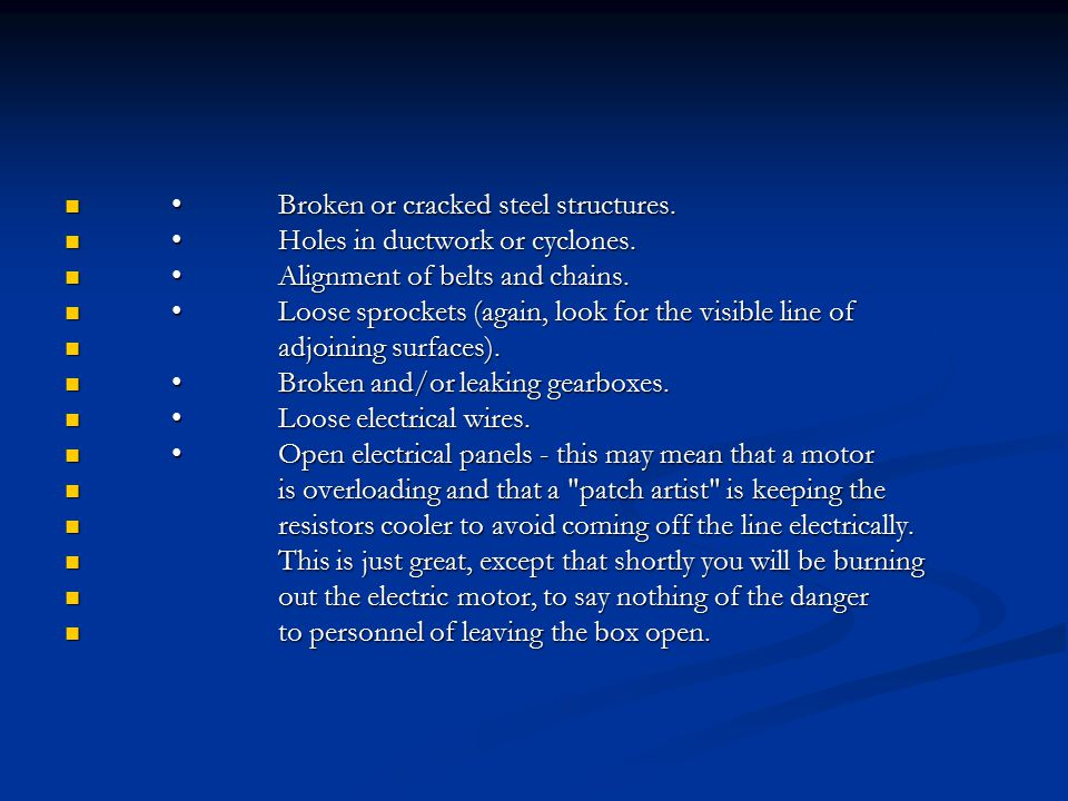 Broken or cracked steel structures.Broken or cracked steel structures.