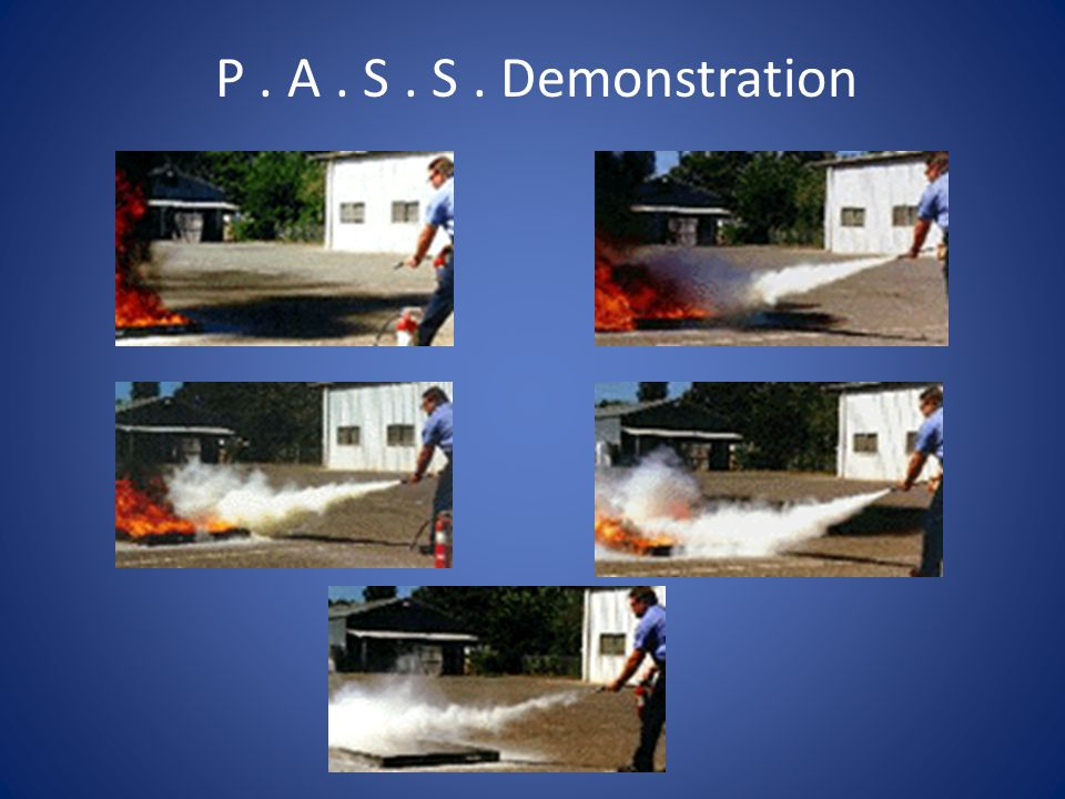 P. A. S. S. Demonstration