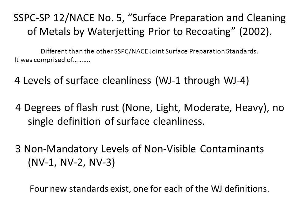June 25, 2012 NACE International has withdrawn NACE No.