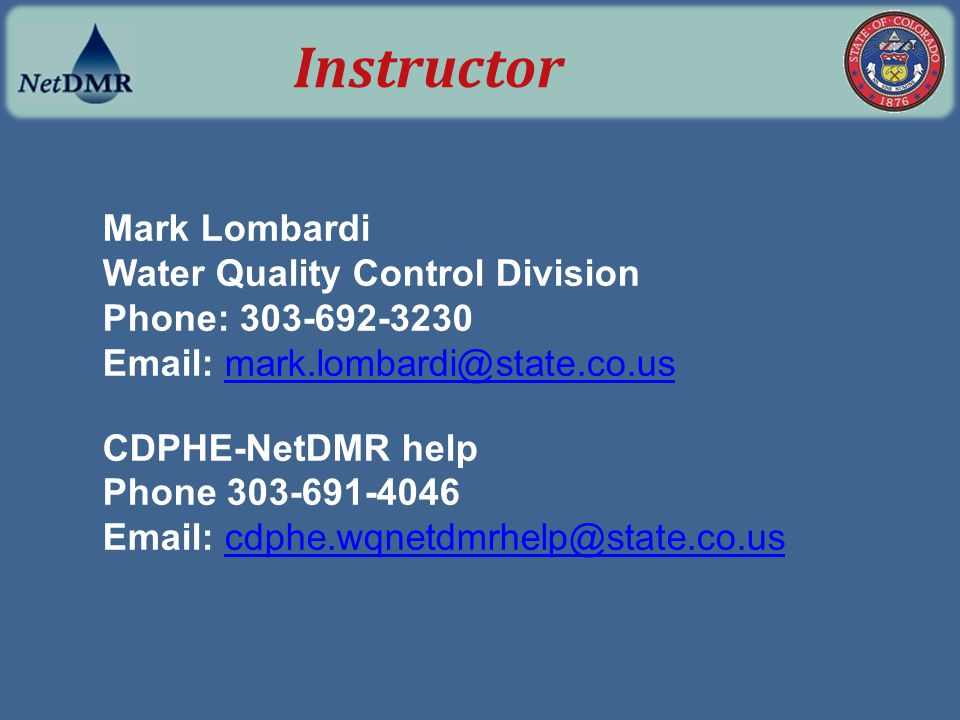 production NetDMR URL* Find this webpage when you are ready to start using Production NetDMR https://netdmr.epa.gov/netdmr/public/home.htm (*for later ) Production NetDMR URL