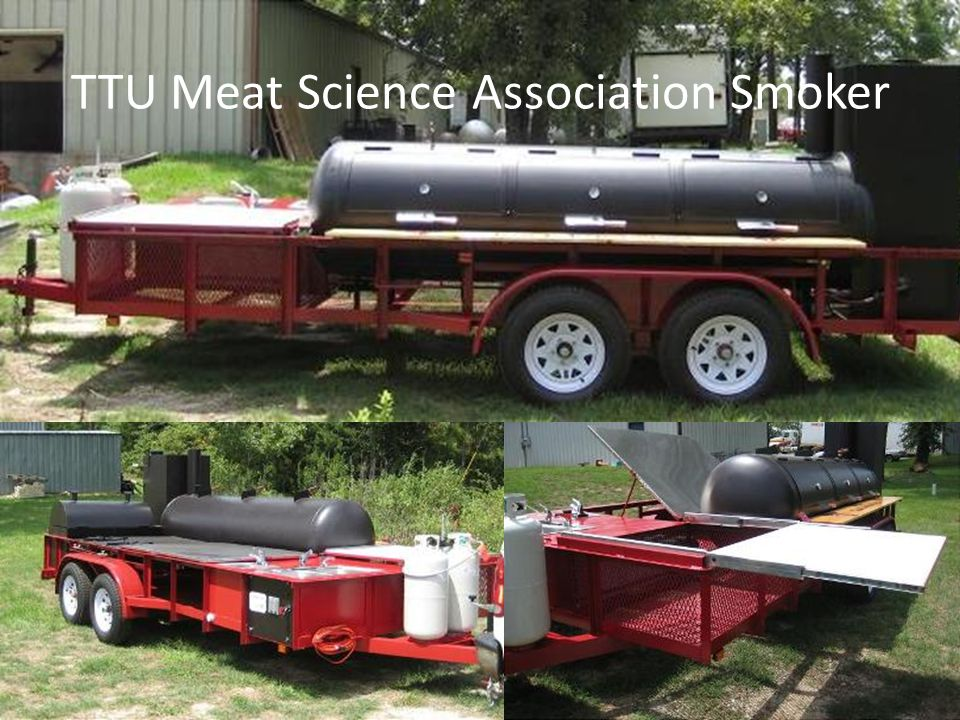 TTU Meat Science Association Smoker