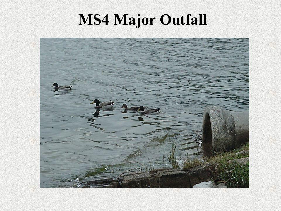 MS4 Major Outfall